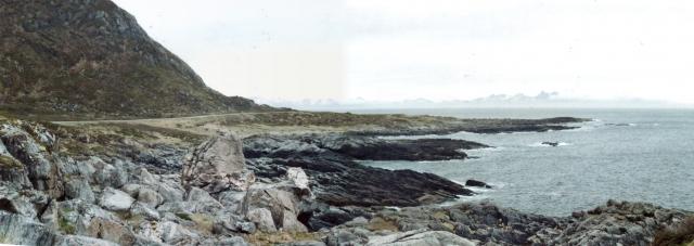 Andoya coast in Andenes